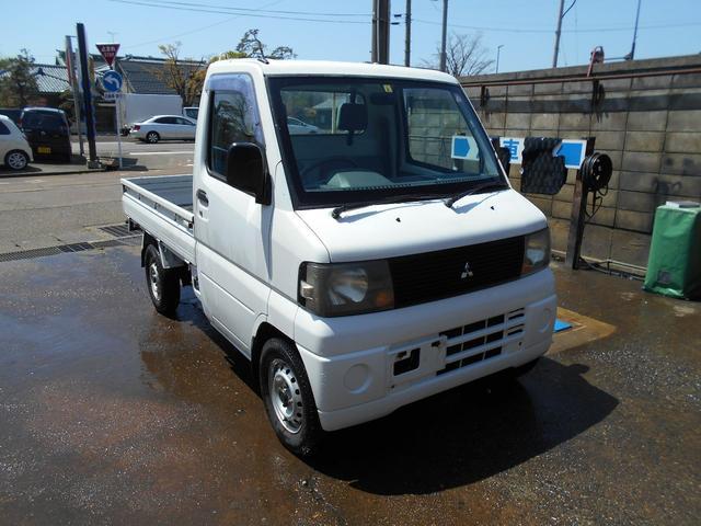 三菱 ミニキャブトラック  4WD 5速マニュアル エアコン 運転席エアバック