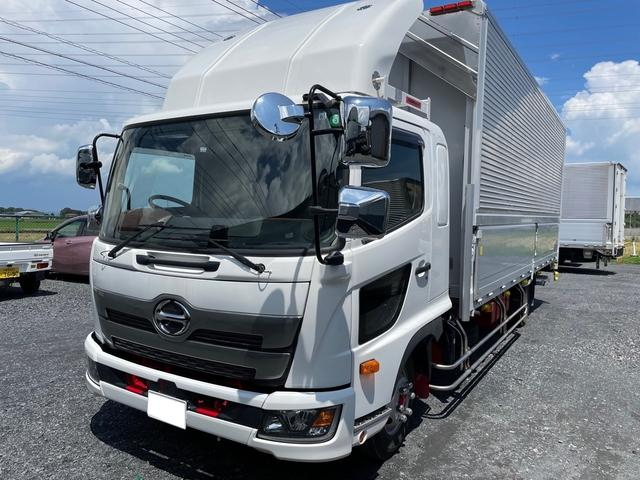 日野  アルミウィング ワイド H30年車 走行距離26000km ETC バックモニター エアサス車 新明和製パワーゲート