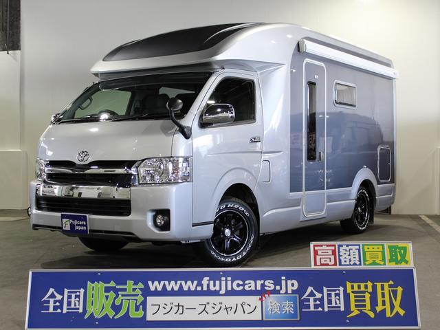 トヨタ キャンピング セキソー トムタンデム ソーラー2枚 4WD