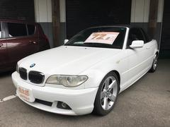 BMW330Ciカブリオーレ 革シート パワーシート 純正アルミ
