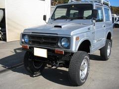ジムニーランドベンチャー 4WD リフトアップ タンク・デフガード