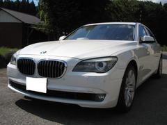 BMW760Li 革シート 後席モニター 純正アルミ HID