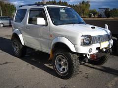 ジムニーワイルドウインド 4WD リフトアップ 後付け電動サンルーフ