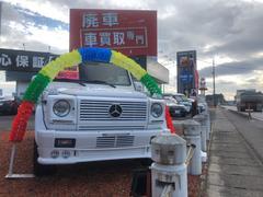 M・ベンツG320 ロング 4WD サンルーフ ETC レザーシート