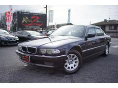 BMW735i 1年間ロードサービス付き