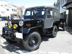 ジープキャンバストップ 4WD 電動ウインチ トレーラー付