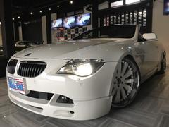 BMW645Ciカブリオレ 社外エアサス アシャンティ22ホイール