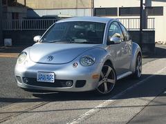 VW ニュービートルターボ マニュアル 革シート ETC 社外アルミホイール