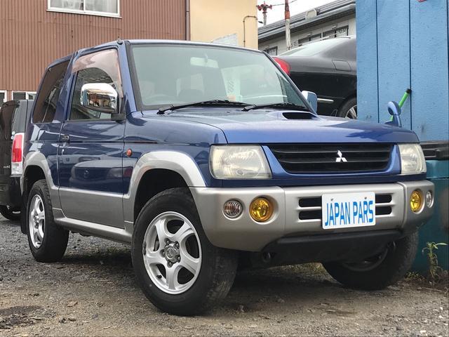 三菱 V 4WD ターボ 社外CD 背面タイヤ Tベルト交換済み
