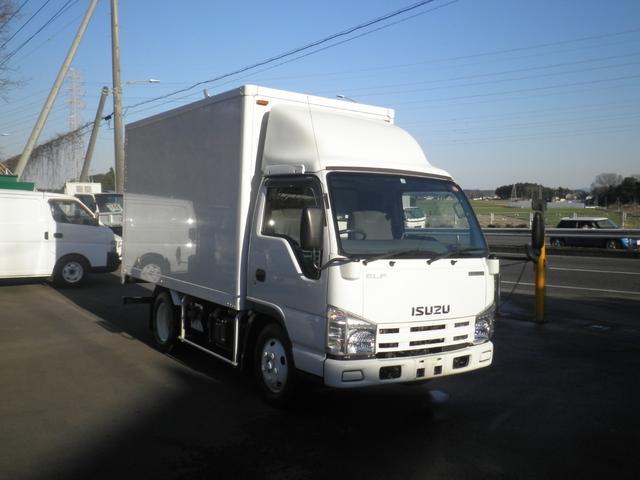 いすゞ エルフトラック 1.85t積載 アルミバン ハイブリッド AT車