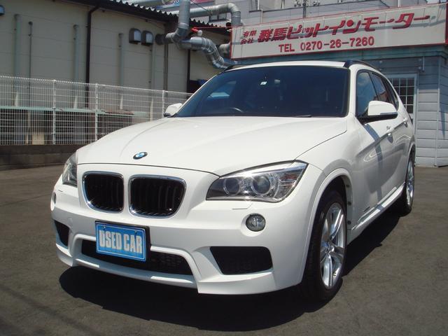 BMW X1 sDrive 20i Mスポーツ ターボエンジン 走行17000km 純正HDDナビ IDRIVE コンフォートアクセス ETC Mスポーツ専用18インチアルミホイール HIDヘッドライト 禁煙車