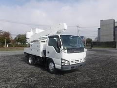エルフトラック高所作業車 アイチ SH106 10.6m 電工絶縁