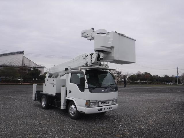 いすゞ 高所作業車 タダノ AT146 サブエンジン