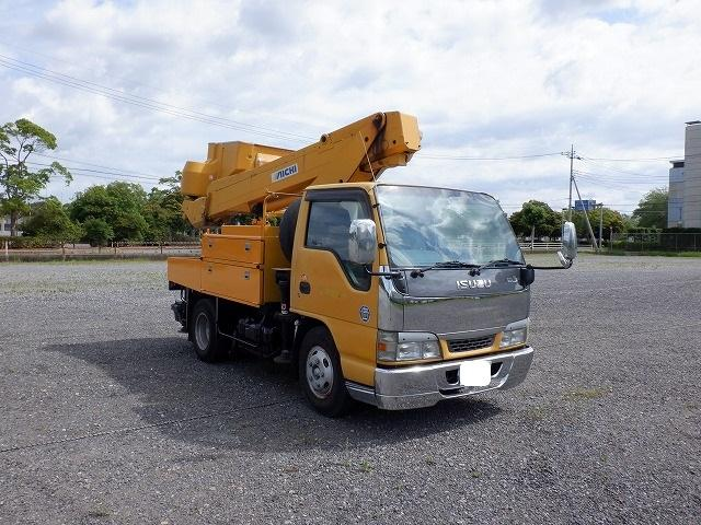 いすゞ 高所作業車 アイチ 電工絶縁 SH106 10.6m