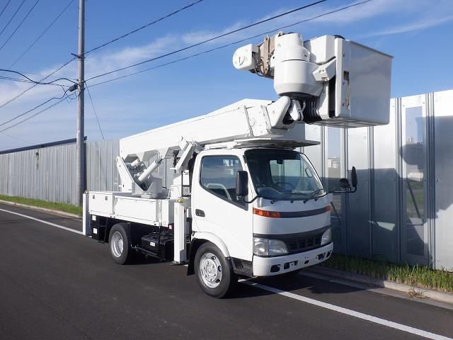 トヨタ ダイナトラック  高所作業車 アイチ SH15B 14.6m 200kgバケット