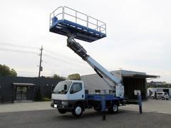 キャンタータダノ15mスーパーデッキ 高所作業車