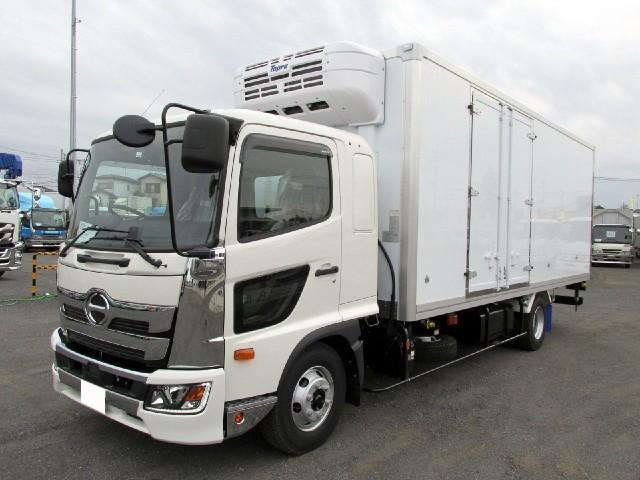 日野 6.2m冷蔵冷凍車 低温 サイドドア付 エアサス