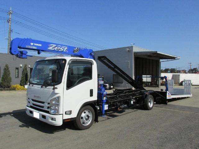 いすゞ タダノ3段クレーン付セフティローダー ラジコン付