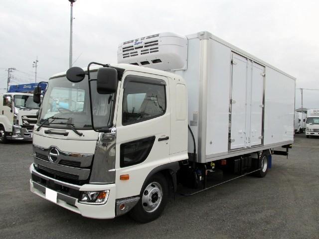 日野 6.2m冷蔵冷凍車 低温 サイドドア付 ワイド エアサス
