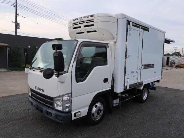 いすゞ エルフトラック 2t冷蔵冷凍車 低温 サイドドア付