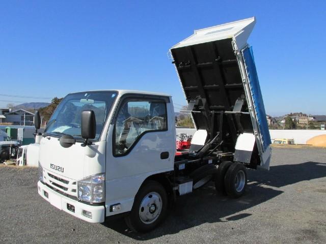 いすゞ エルフトラック 3t高床強化ダンプ 4ナンバー車
