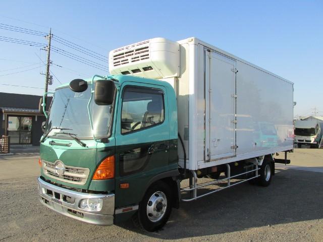 日野  6m冷蔵冷凍車 低温 サイドドア付 ベッドレス
