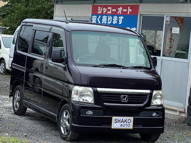 ホンダ バモス L4WD キーレス アルミ CD