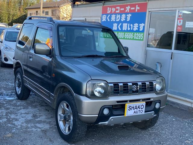 スズキ ランドベンチャー 4WD キーレス アルミ CD TURBO