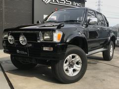 ハイラックスピックアップダブルキャブ SSR−X 4WD