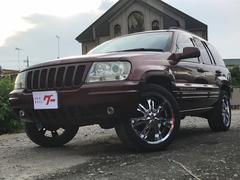 クライスラージープ グランドチェロキーリミテッド 20インチナビ 黒革シート ETC 4WD