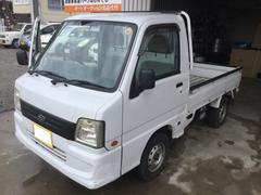 サンバートラック4WD プラス5万円で車検2年付も可能です。