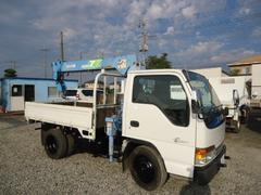 エルフトラック4.6高床10尺4段クレーンラジコン付き