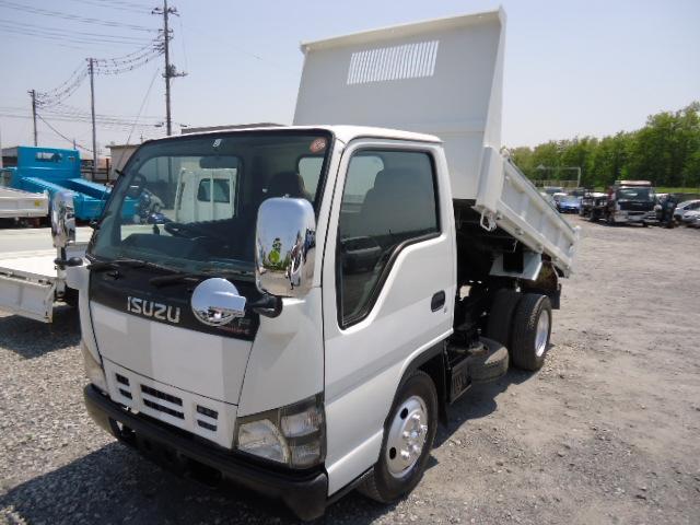 いすゞ フルフラットローダンプ2トン車