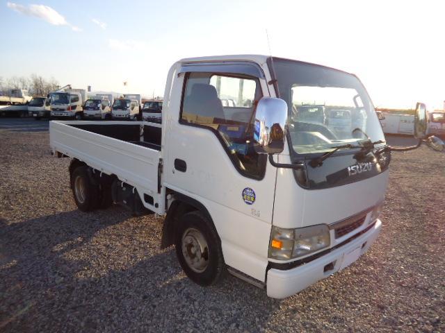 いすゞ エルフトラック 2トン平フルフラットロー適合車