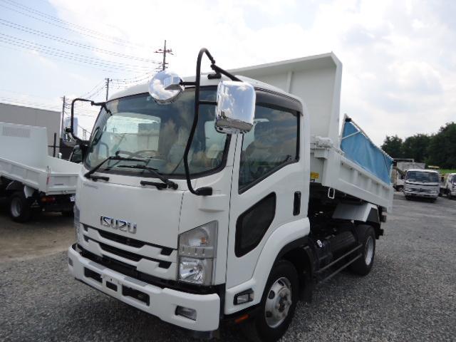 いすゞ 4トンダンプ強化ダンプLゲート 電動コボレーン ETC キーレス 付