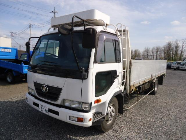 UDトラックス 4トン車平アルミボデー内寸225×625cm