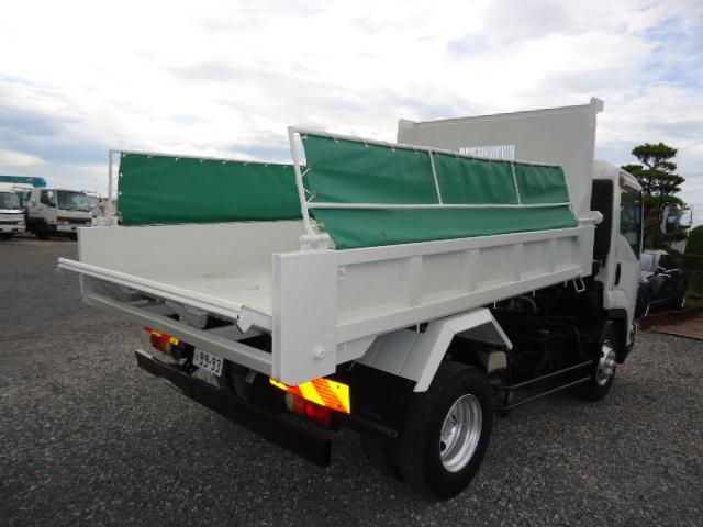 いすゞ Lゲート強化ダンプ4トン電動コボレーン付