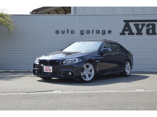BMW 523d Mスポーツ 黒革 サンルーフ 純正OP19AW
