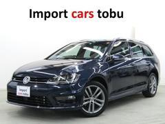 VW ゴルフヴァリアントRライン ワンオーナー 純正ナビ ACC フルセグTV