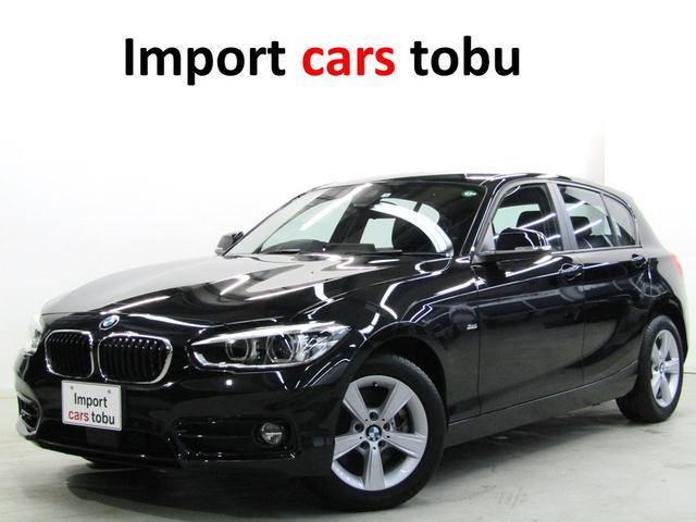 BMW 118i スポーツ 純正ナビ・Bカメラ LEDヘッドライト アクティブクルーズコントロール パーキングサポートPKG インテリジェントセーフティー