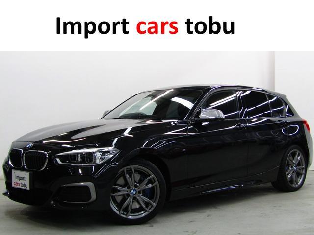 BMW 1シリーズ M140i サンルーフ 純正ナビ・バックカメラ・ETC・黒レザーシート・シートヒーター・LEDライト・クルーズコントロール・コンフォートアクセス・純正アルミホイール