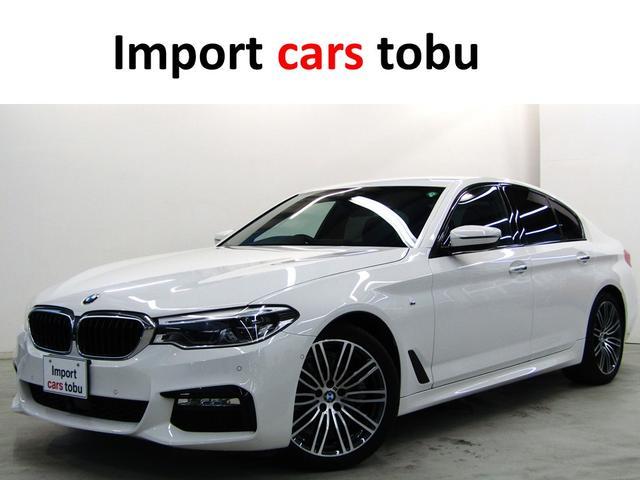 BMW 5シリーズ 523d Mスポーツ 純正ナビ・Bカメラ・フルセグ 360度カメラ LEDヘッドライト アクティブクルーズコントロール 電動トランク