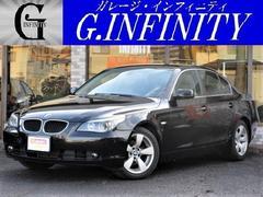 BMW525i・本革シート・純ナビ・ETC・HID・Pシート
