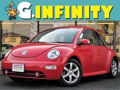 VW ニュービートルサルサ・本革・走行4.1万・ETC・純16AW・キーレス