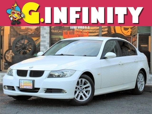 BMW 3シリーズ 320i 走行8.6万km・社外HDDナビ・バックカメラ・ワンセグTV・DVD再生・Mサーバー・電動シート・エンジェルアイ(HID)・ETC・キーレス・純正16AW・MTモード・Tチェーン
