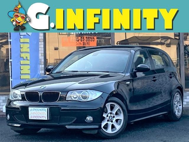 BMW 118i 記録簿6枚・走行49000km・純正16AW・ETC・HID・本革巻きステアリング・キーレス・プッシュスタート・マニュアルモード・オートエアコン・フォグ・タイミングチェーン