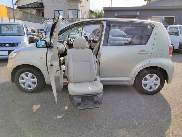 トヨタ X ウェルキャブ 助手席リフトアップ