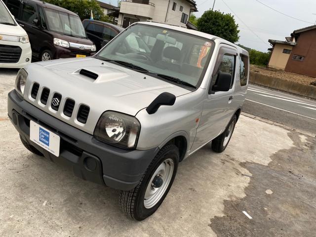 スズキ ジムニー XA 4WD AC パワステ ABS Wエアバッグ パワーウィンドゥ フルフラット