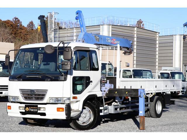 日産ディーゼル タダノ4段クレーン 増トン 積載5.4t ラジコン アピトン