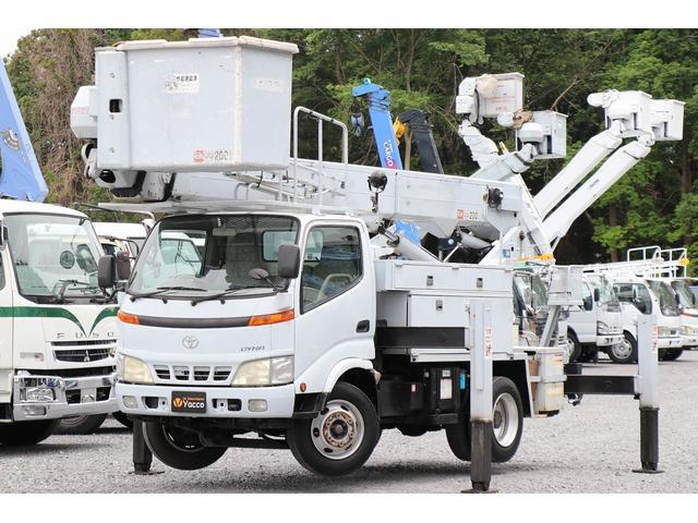 トヨタ 高所作業車 アイチ SH15A 電工仕様 高さ14.6m